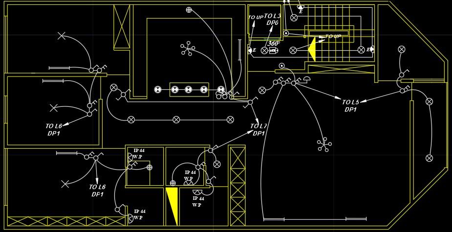 Image result for نقشه های جزئیات اجرایی تیپ تاسیسات الکتریکی ساختمان