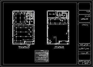 آشنایی با انواع پلان ها و المان ها در نقشه کشی برق ساختمان های اداری